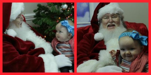 Santas Lap collage