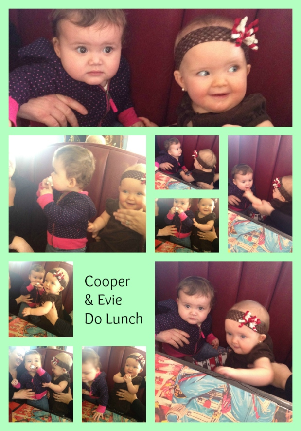 Cooper and Evie Do Lunch